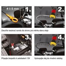 Črpalka za črpanje  goriva ali ekstra lahkega kurilnega olja 12V