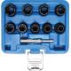 """10-delni set ključev 1/2"""", 10 - 19 mm za poškodovane vijake in matice BGS"""