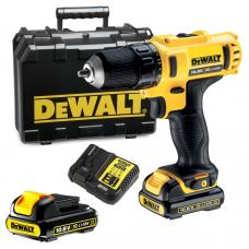 Akumulatorski vrtalnik DEWALT 2 x 1,3 Ah