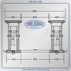 Mobilno škarjasto dvigalo 3T 6718  Twin Busch